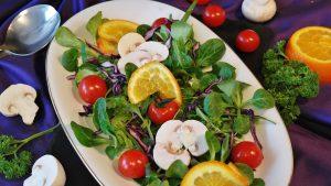 Piatto di insalata