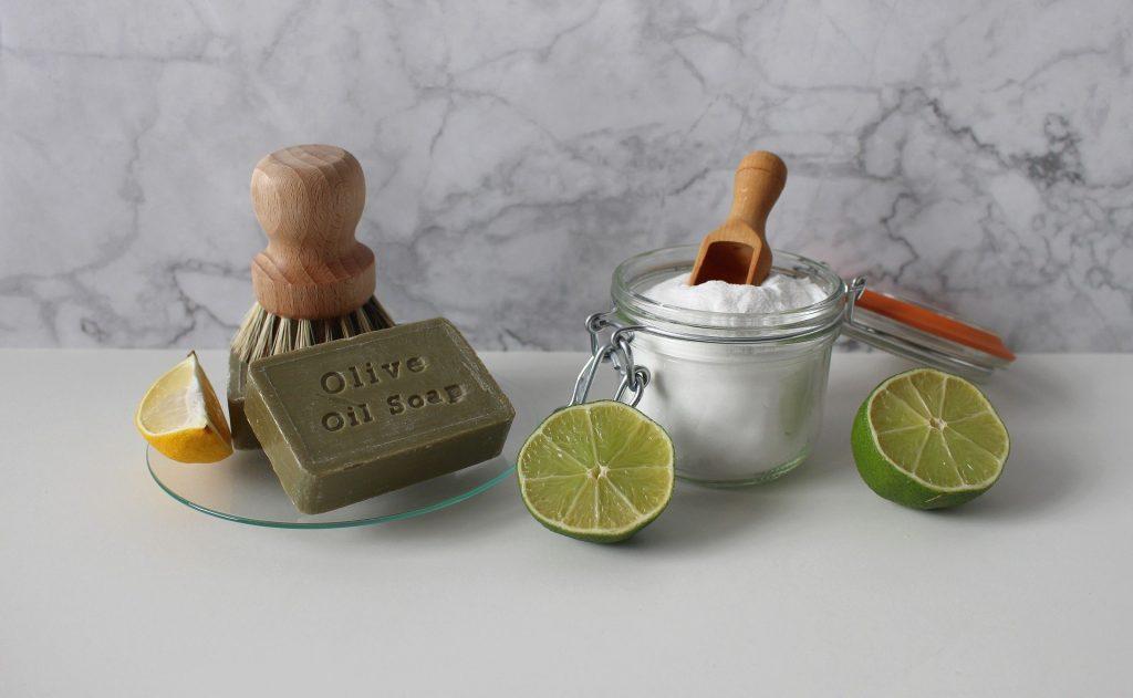 Bicarbonato di sodio e sapone